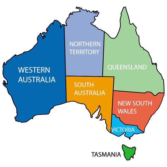 660x660 free vector maps of australia