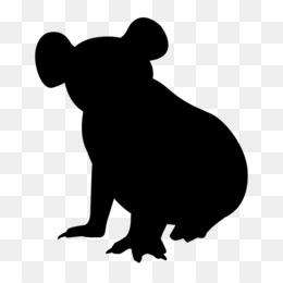 260x260 Free Download Australia Koala Silhouette Clip Art