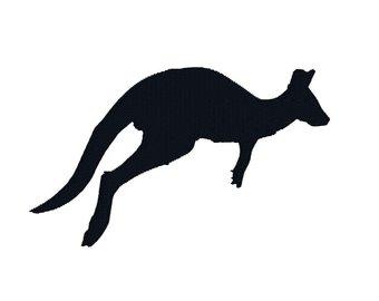 340x270 Kangaroo Silhouette Etsy