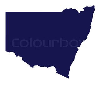 320x274 Silhouette Of The Sydney Harbour Bridge In Australia Stock