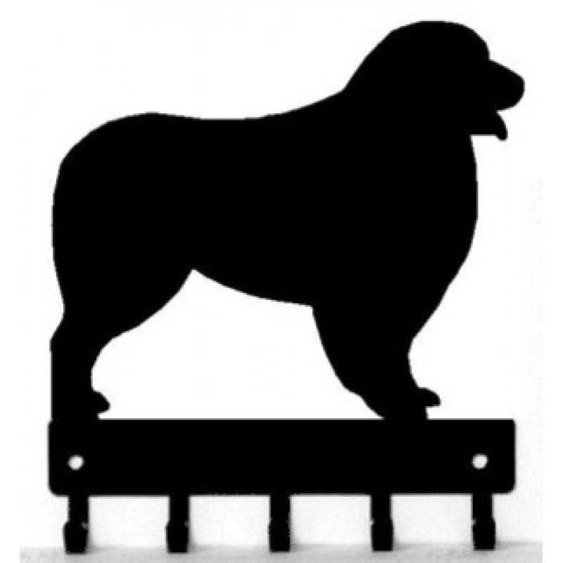 800x800 Dog Key Rack Leash Hanger Australian Shepherd
