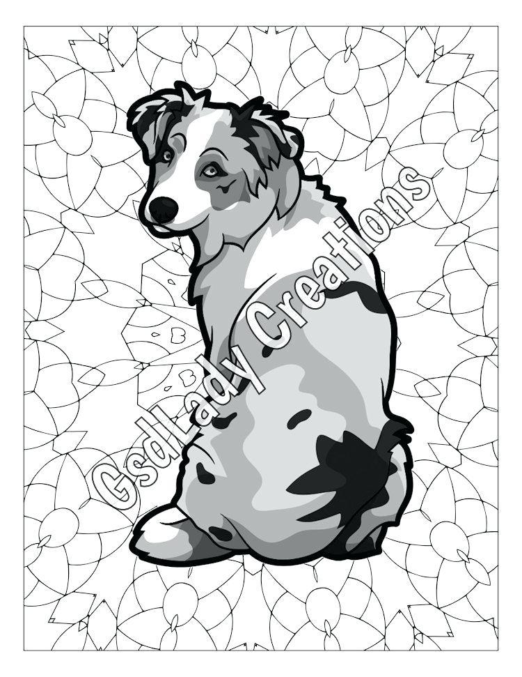 750x971 Shepherd Coloring Page Free Coloring Mini Shepherd Shepherd