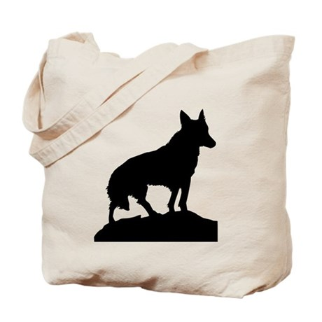 460x460 Shadow Wolf Bags Amp Totes Personalized Shadow Wolf Reusable Bags