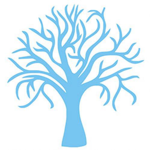 498x498 Altamatz Stencil Tree Silhouette Busybeescrapbooking
