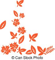 180x194 Autumn Leaves Pattern. Pattern From Silhouette Chestnut Clip