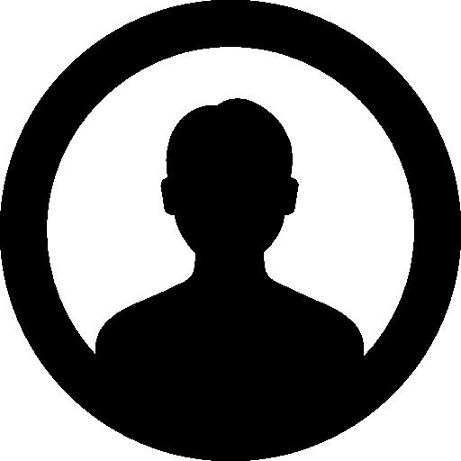 512x512 User Outline, Interface, Avatar, User Silhouette, User Avatar