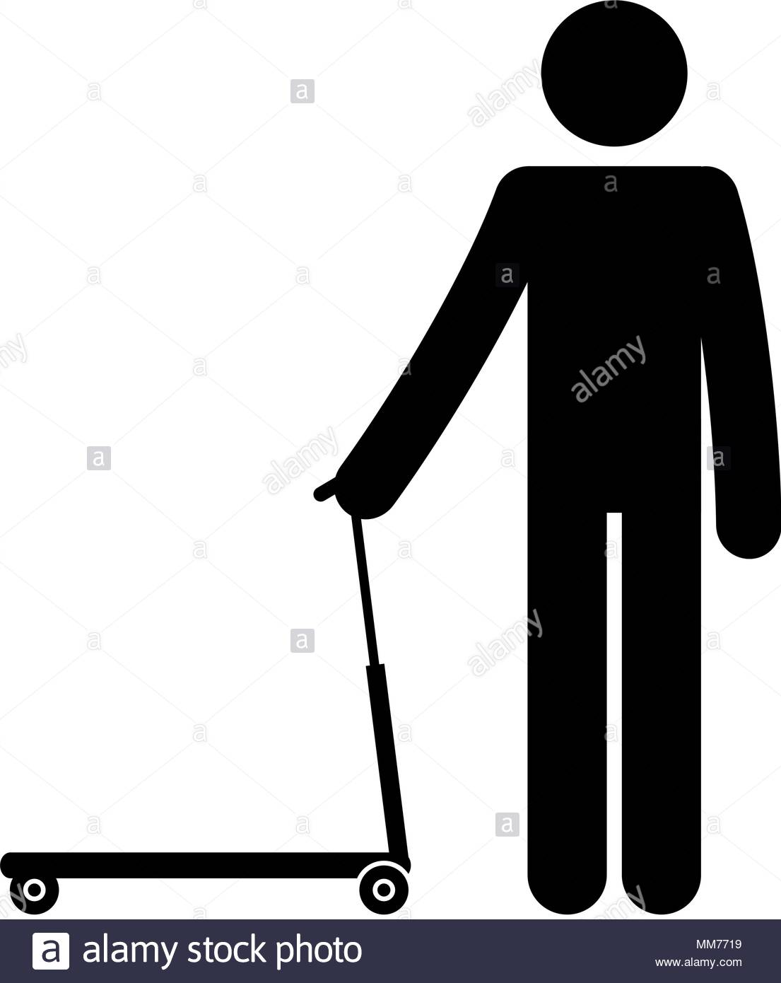 1105x1390 Figure Human In Skateboard Silhouette Avatar Stock Vector Art