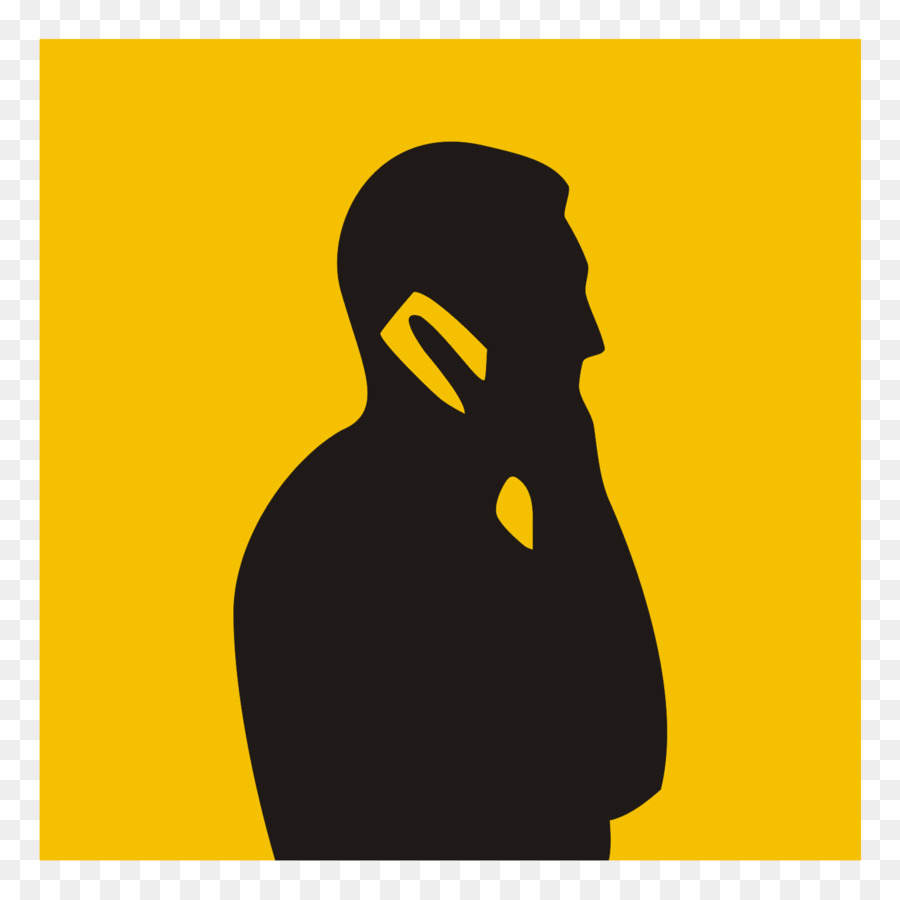 900x900 Iphone Silhouette Person Telephone