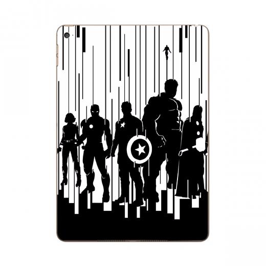 520x520 Designer Avengers Silhouette Apple Ipad Air 2 Skin Ultra Made