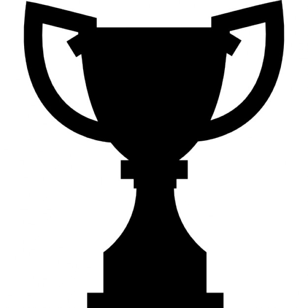 626x626 Award Trophy Silhouette Icons Free Download