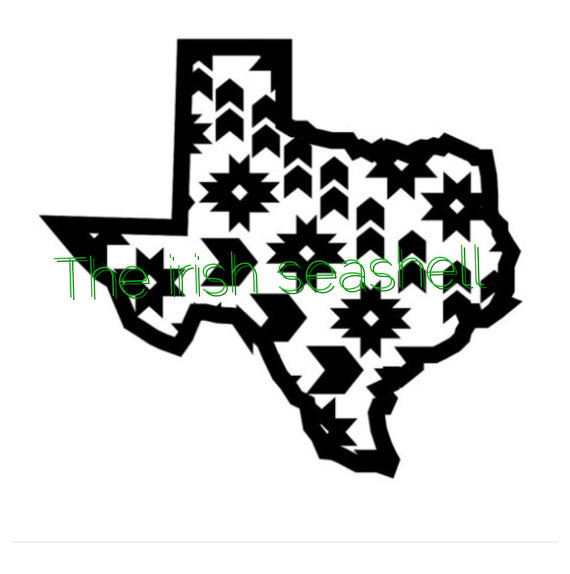 570x574 Aztec Texas Svg Dxf File Filing, Cricut And Silhouette Files