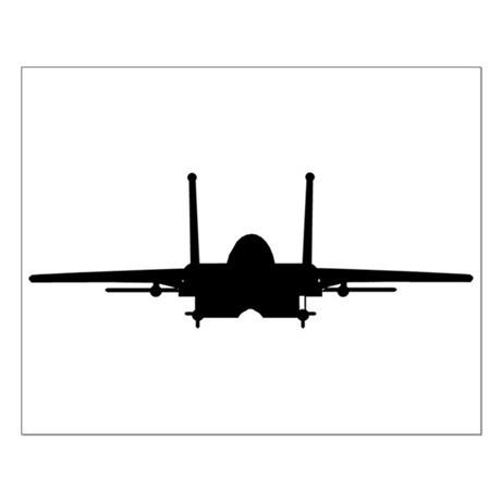 460x460 B52 Silhouette Air Force Wall Art