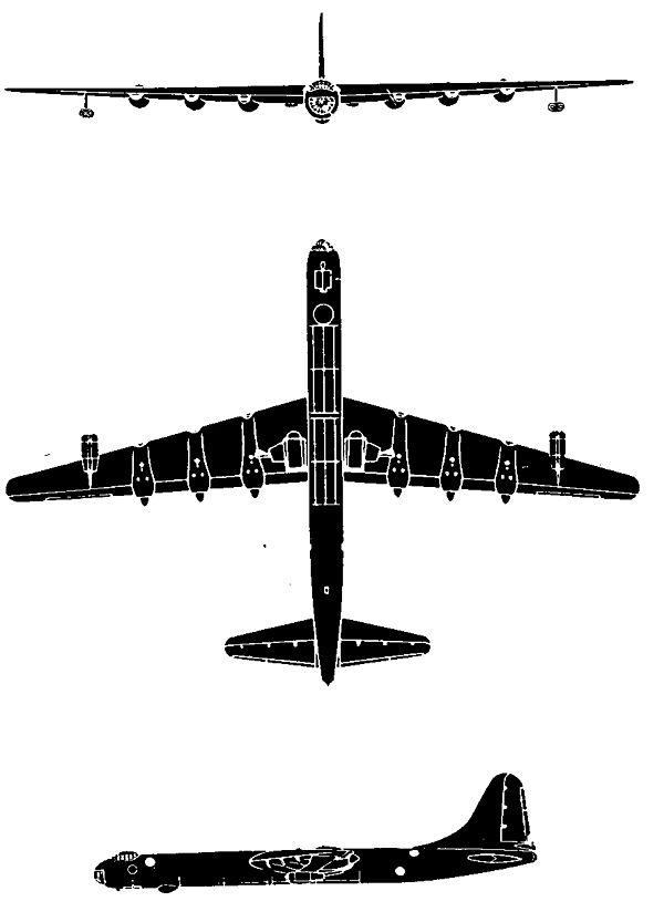 600x824 Convair B 36 Peacemaker