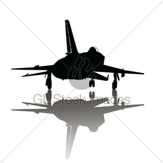 325x325 Vintage Military Plane Silhouettes Gl Stock Images
