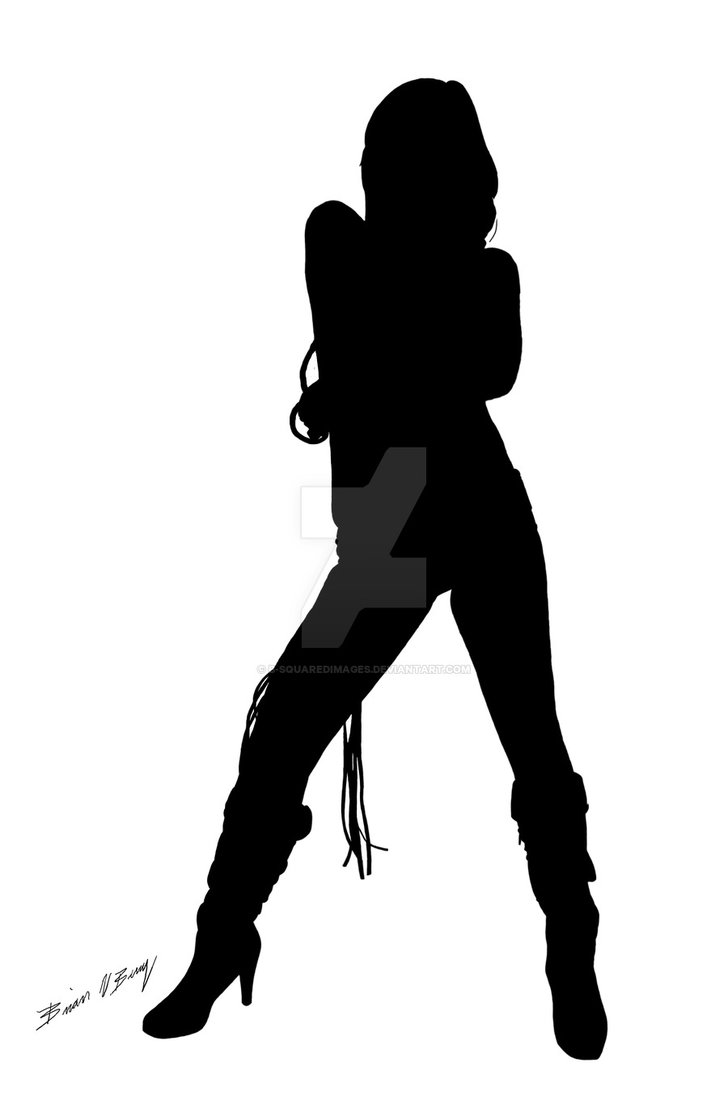 728x1096 Silhouette Dancer Black 2 By B Squaredimages