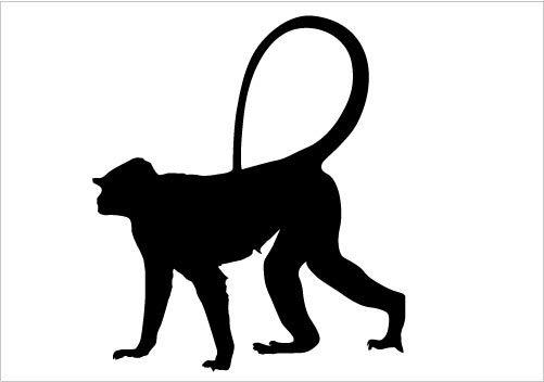 501x352 Animal Silhouette Silhouette Graphics Animal Silhouette