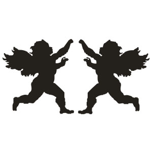 300x300 Angels Decal Sticker