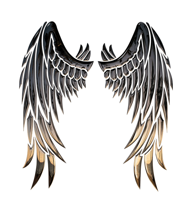 649x720 Free Photo Religion Angel Wings Wings Angel 3d