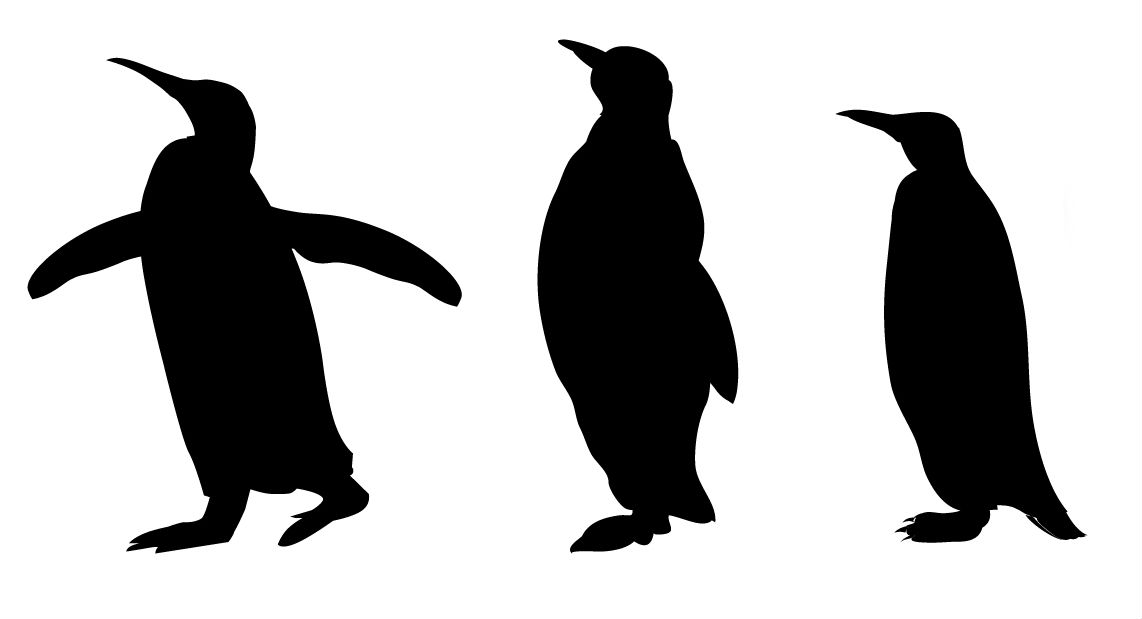 1142x619 Baby Animal Silhouettes