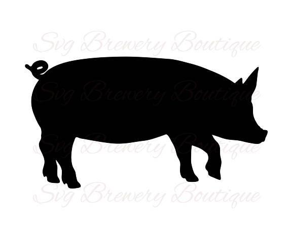 570x452 Pig Farm Animal Pork Piglet Bacon Svg Png Dxf For Cricut