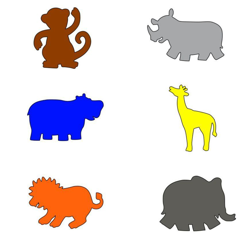 860x860 Baby Animal Baby Animals And Silhouette