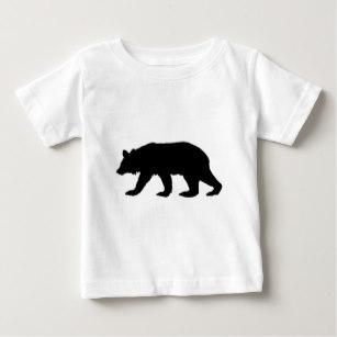 307x307 Bear Black Silhouette Baby Clothes Amp Apparel Zazzle