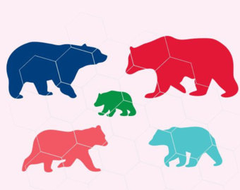 340x270 Bear Family, Mama Bear, Papa Bear, Baby Bear, Sister, Brother
