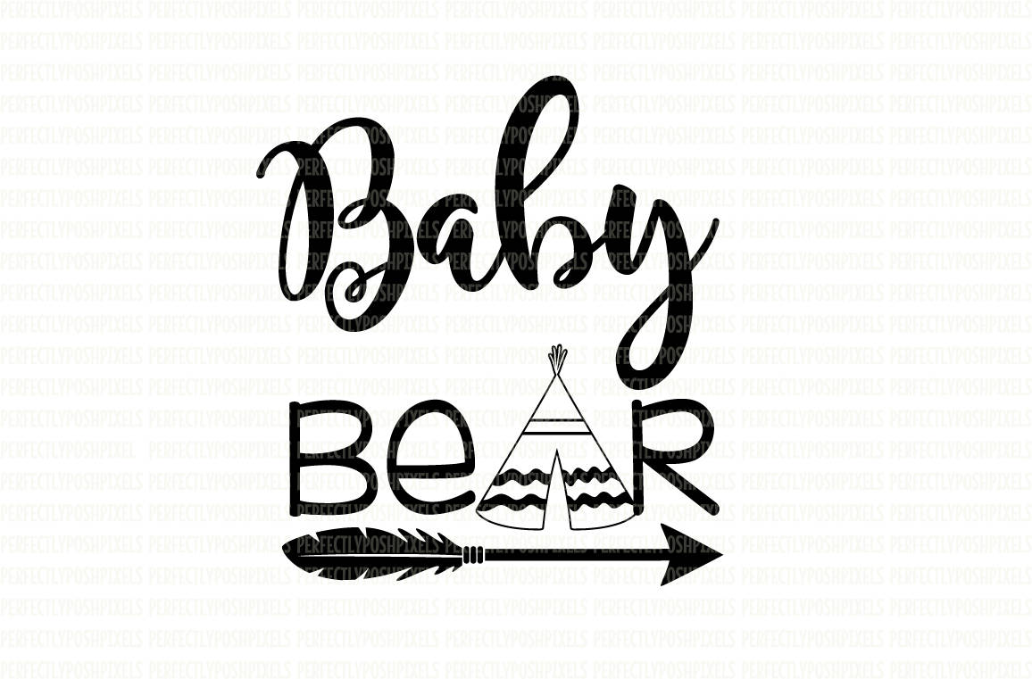 1156x761 Baby Bear Svg Files Printable Clipart Cut File Baby Bear