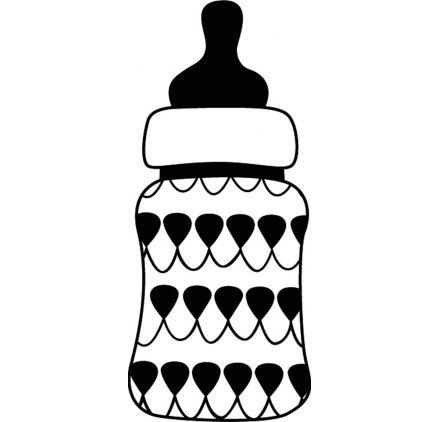 Baby Bottle Silhouette