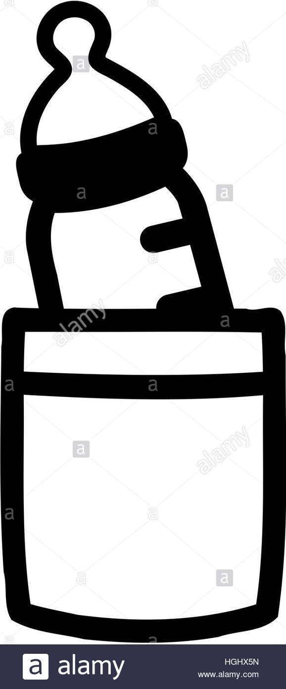 578x1390 Baby Bottle In Shirt Pocket Stock Photo 130700801