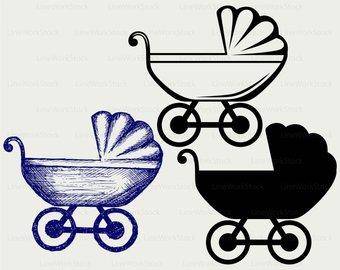 340x270 Carriage Silhouette Etsy