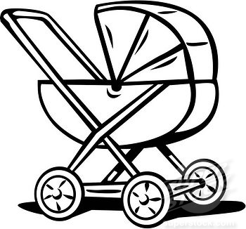 baby carriage silhouette clip art at getdrawings com free for rh getdrawings com horse carriage clipart princess carriage clipart