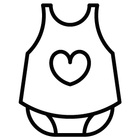 283x283 Girl Clothes Silhouette Silhouette Of Girl Clothes