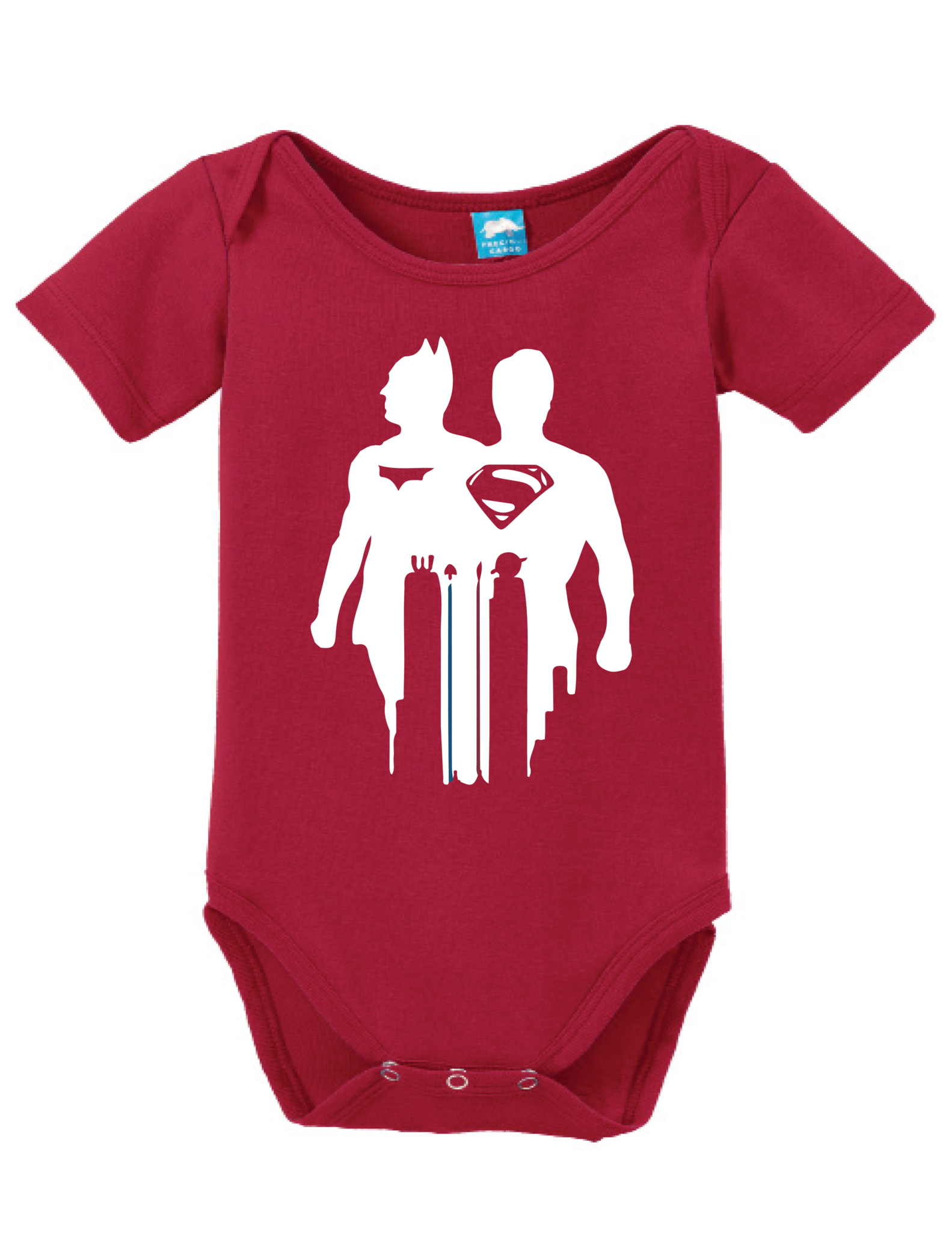 1583x2048 Silhouette Batman Superman Onesie Bodysuit, Babies And Baby Boys
