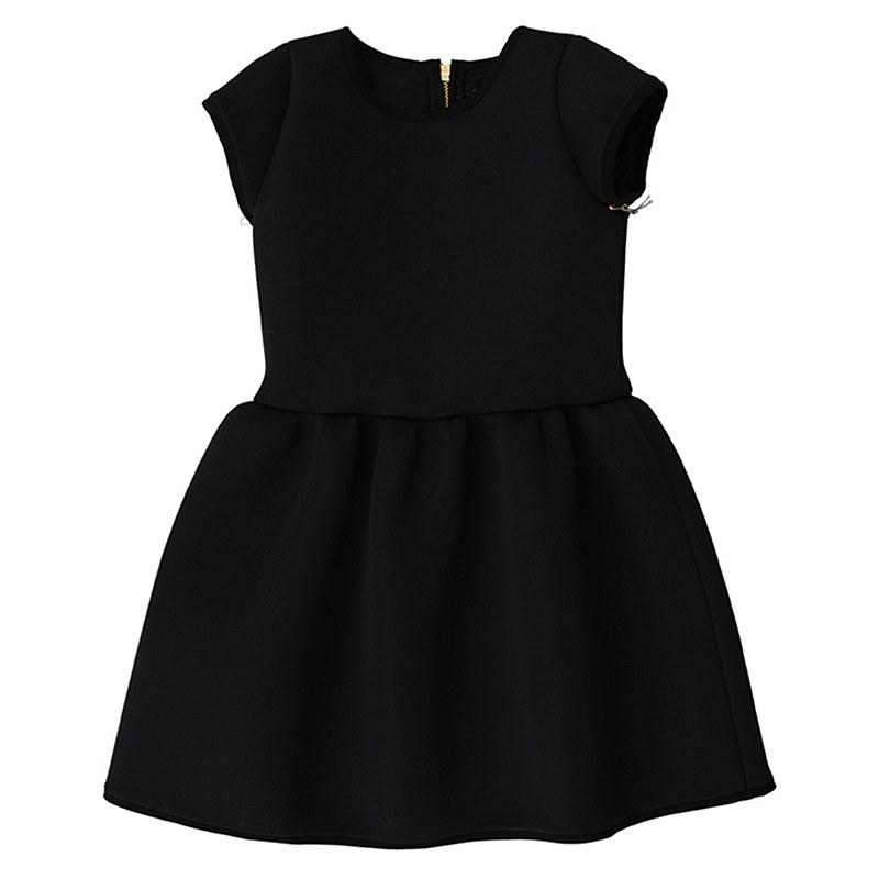 800x800 Ylg Black Scuba Dress
