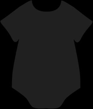 310x364 Black Onesie Clip Art Baby Onesie, Clip Art And Babies