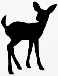 190x246 Fawn (Baby Deer Silhouette) By Azza1070 Spreadshirt