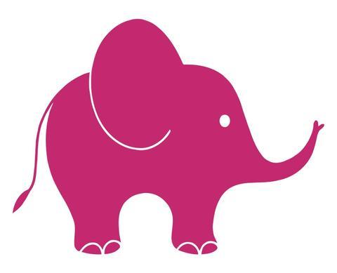 480x389 Elephant Decals Decals City