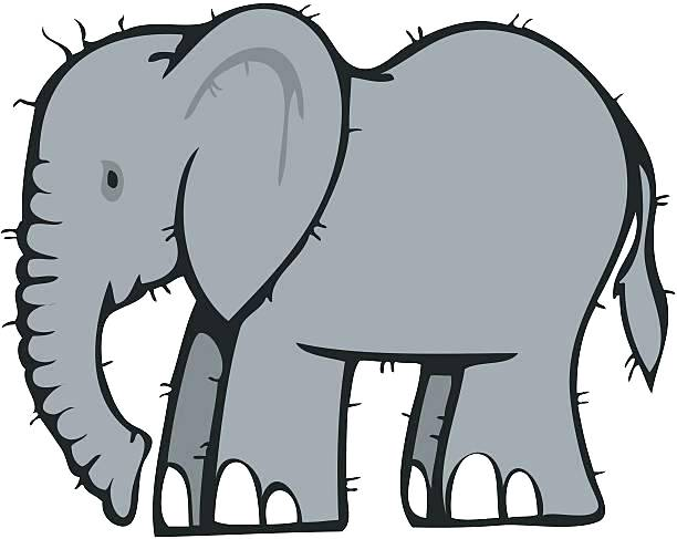 baby elephant silhouette clip art at getdrawings com free for rh getdrawings com elephant clipart grey and white elephant clip art black and white