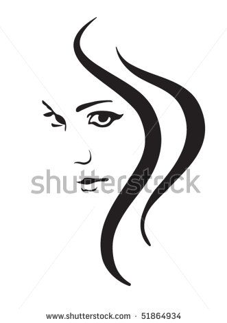 Baby Face Silhouette