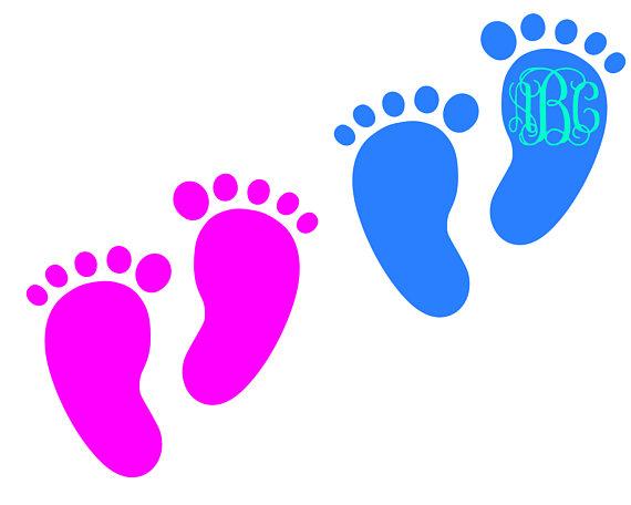 570x456 Baby Feet Svg Svg Monogram Frames Svg Vector Cut File Cutting File