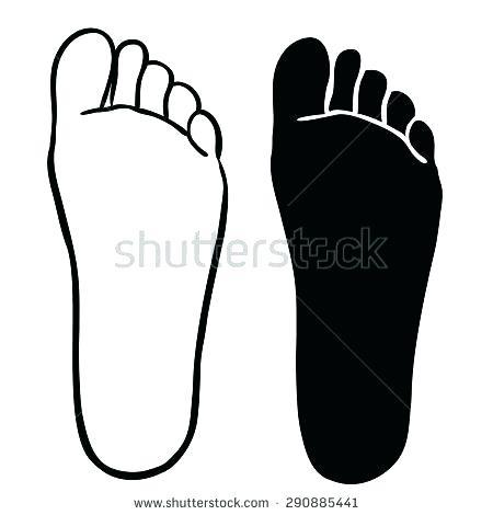 450x470 Printable Feet
