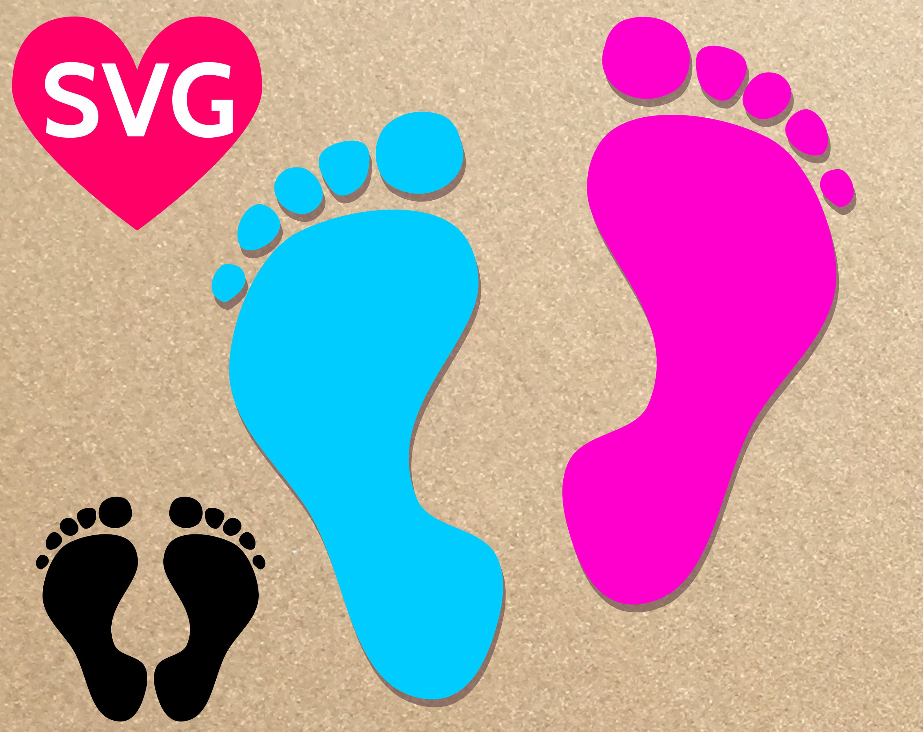 3000x2382 Baby Footprint Svg, Baby Feet Svg, Baby Foot Svg, Baby Foot Print