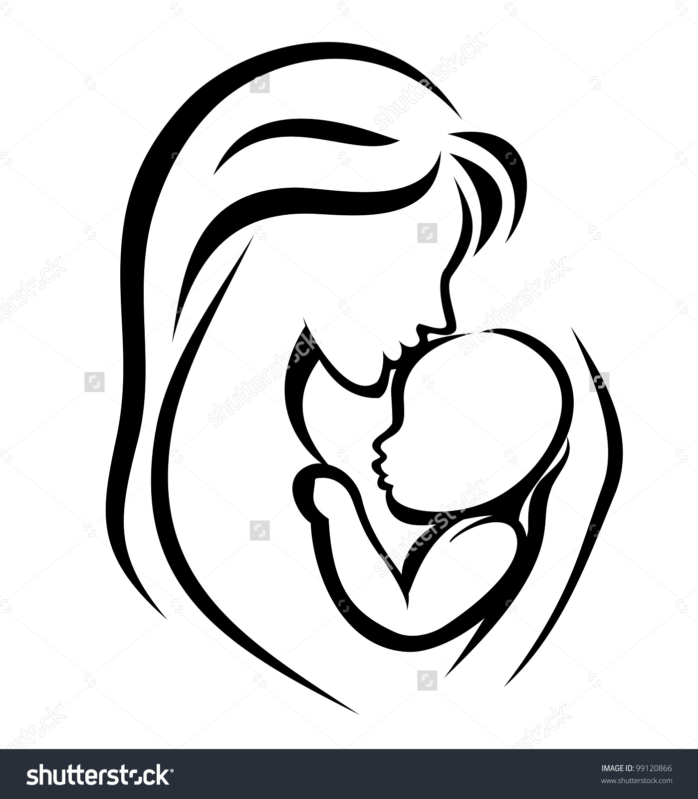 1399x1600 Mother And Baby Clipart Maa Many Interesting Cliparts
