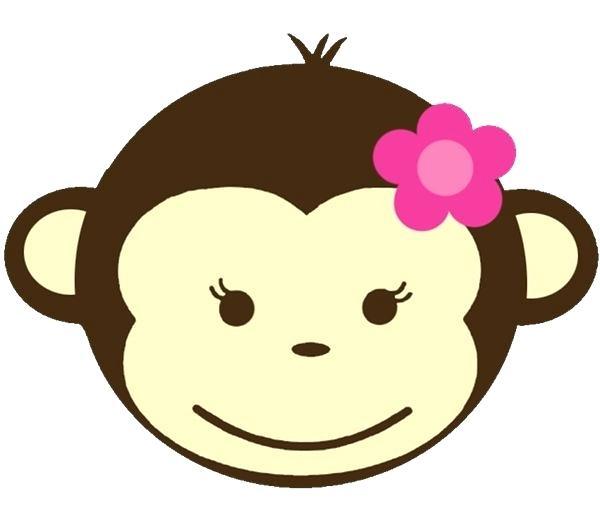 600x512 Monkey Face Clipart Monkey Easy Baby Monkey Face Clipart Docclub