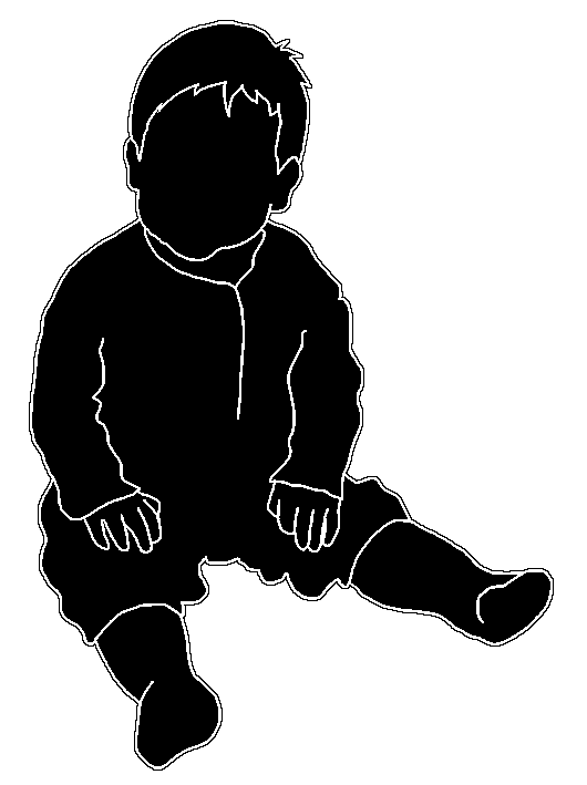 530x709 Beautiful Silhouettes Of Children