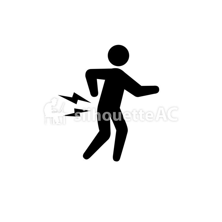 750x750 Free Silhouette Vector Cranky Back