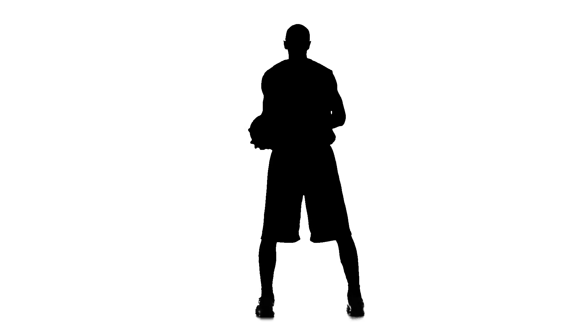 1920x1080 Basketball Player Spinning Passes The Ball Behind His Back