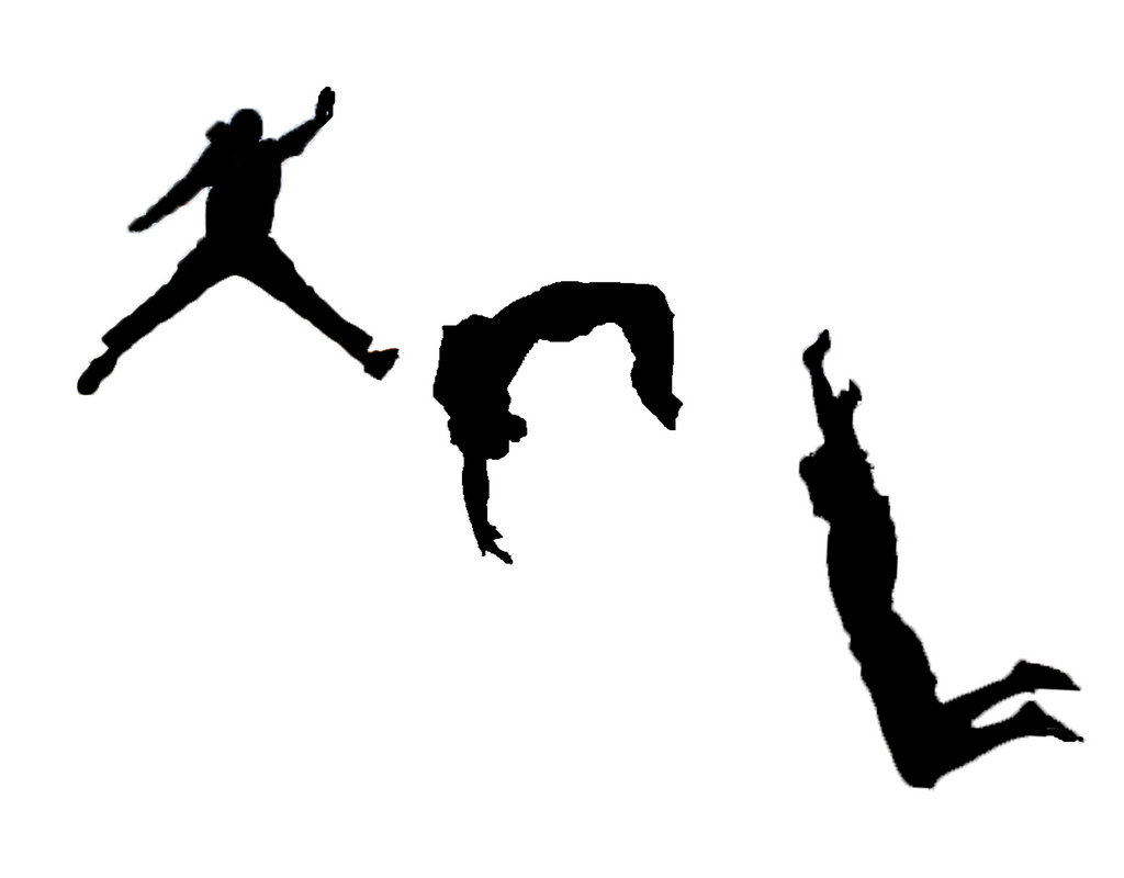 1024x800 Images Of Parkour Backflip Silhouette