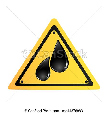 450x470 Color Silhouette Road Sign With Oil Drops Vector Vector